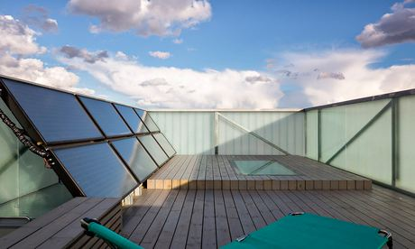 Sky garden Slip House in Brixton, London