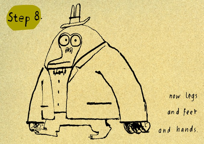 how to draw mr big