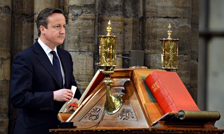 David Cameron and the Bible