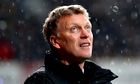David Moyes sacking Manchester United
