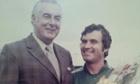Gough Whitlam and Rale Rasic