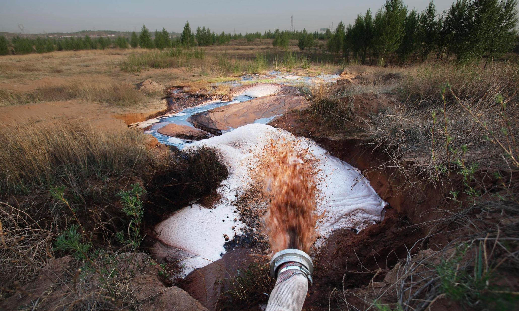 China says more than half of its groundwater is polluted