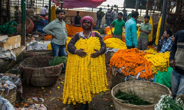 Flower power: The flower markets of Ghazipur are temples of beauty amidst the concrete jungle of the city, and an integral part of the citys heritage and culture. The annual trade volume is as high as 100 million dollars.