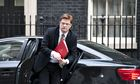 Chief secretary to the Treasury Danny Alexander arrives at Downing Street