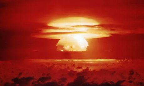 Mushroom Cloud of Operation Castle-Bravo