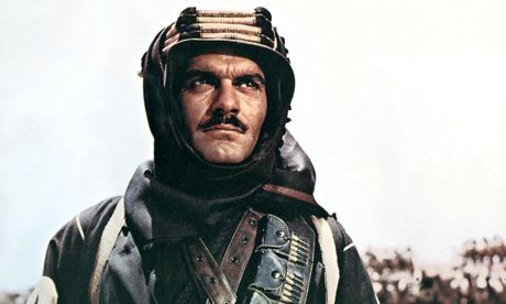 Omar Sharif in Lawrence of Arabia, 1962
