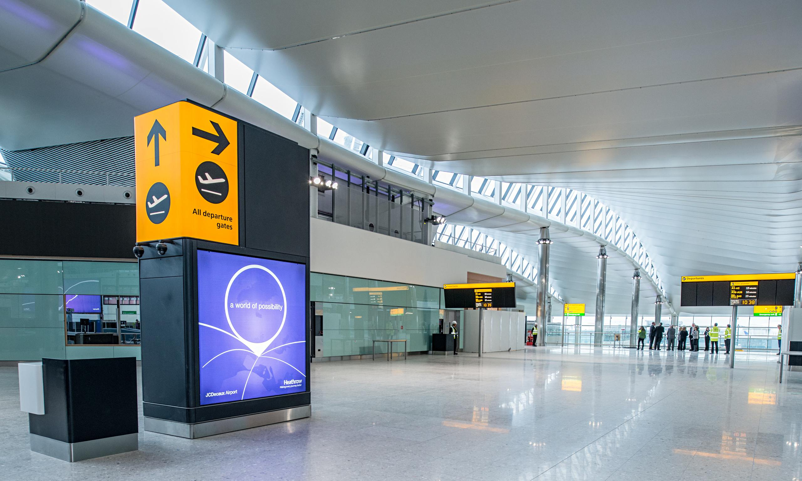 Heathrow Terminal 2 review – more boring than soaring ...
