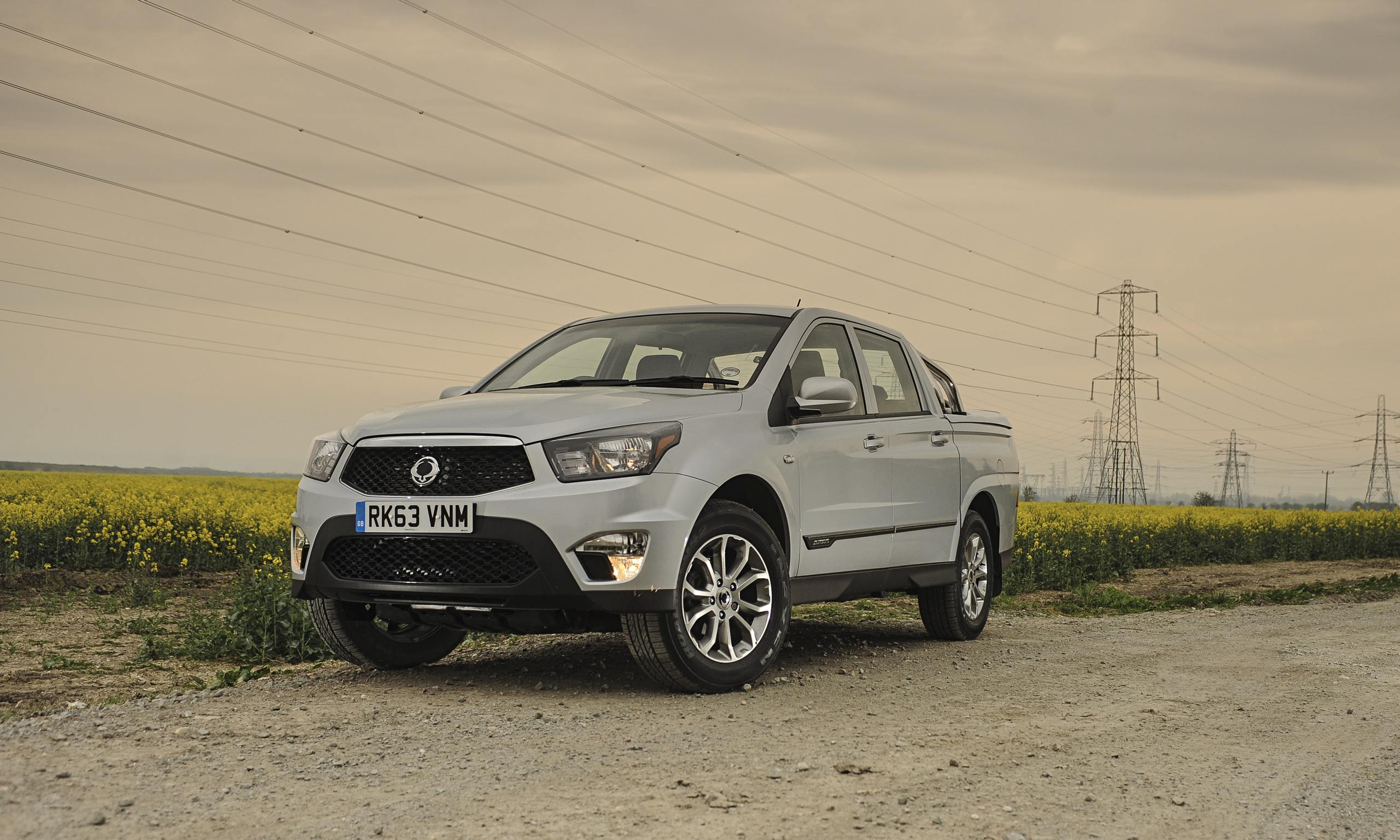 ssangyong korando sports ex car review technology the guardian. Black Bedroom Furniture Sets. Home Design Ideas