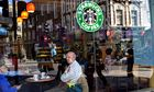 Starbucks reports drop in UK sales