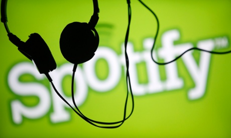 Spotify is competing with Apple's iTunes for digital music dominance.