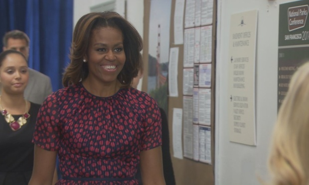 parks and recreation 39 s cameos how does michelle obama measure up television radio the. Black Bedroom Furniture Sets. Home Design Ideas