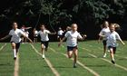 A skipping race on school sport's day. But does it matter who wins?