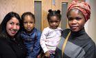 Afusat Saliu and her daughters Rashidat and Bassy