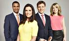 Good Morning Britain presenters Sean Fletcher, Susanna Reid, Ben Shephard and Charlotte Hawkins