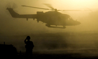 Afghanistan, lynx helicopter