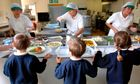 Children healthy school lunches Swindon