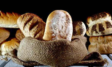 Loaves of artisnal bread