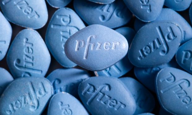This undated photo provided by pfizer shows Viagra pills. In a first for the drug industry, Pfizer Inc. told The Associated Press on May 6, 2013, that it will sell erectile dysfunction pill Viagra directly to patients on its website.