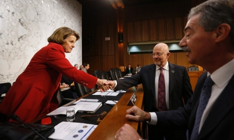 Dianne Feinstein and James Clapper