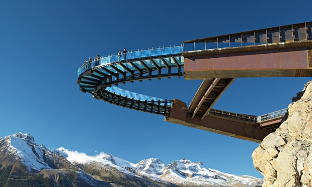 Glacier skywalk, Jasper national park, Canada