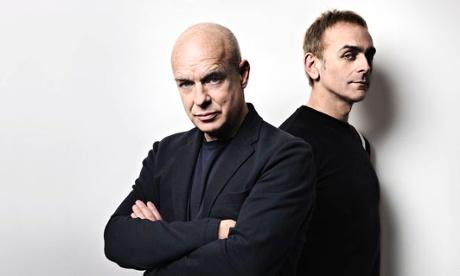 "Brian Eno & Karl Hyde ""Someday World"" (2014) / electronic"