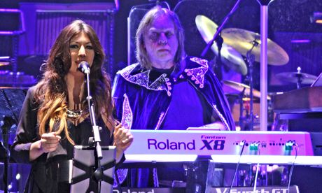 Rick Wakeman performs Journey to the Centre of the Earth Manchester