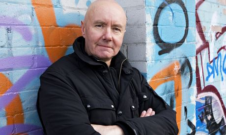 International appeal … Irvine Welsh, visiting Leith from his new home in Chicago. Photograph: Murdo Macleod