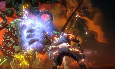 Yaiba: Ninja Gaiden Z: full of gratuitous shock and gore, but not calling for much skill.