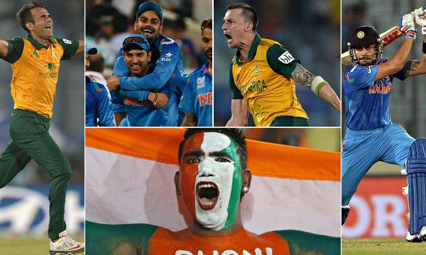 India v South Africa World Twenty20 semi-final composite