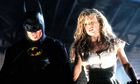 Kim Basinger with Michael Keaton in Batman