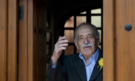 Gabriel García Márquez on his birthday in Mexico City.