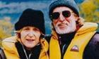 Shark victim Christine Armstrong with her husband Rob
