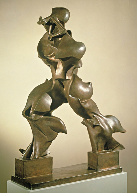 Umberto Boccioni's Unique Forms of Continuity in Space