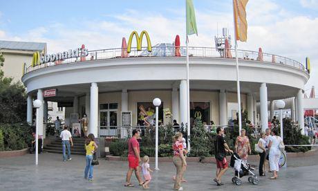 Крым: больше не будет Макдональдсов или метадона после аннексии