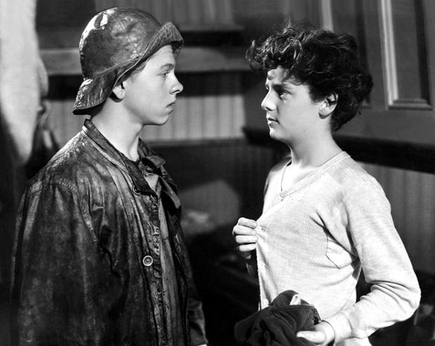 Mickey Rooney and Freddie Bartholemew