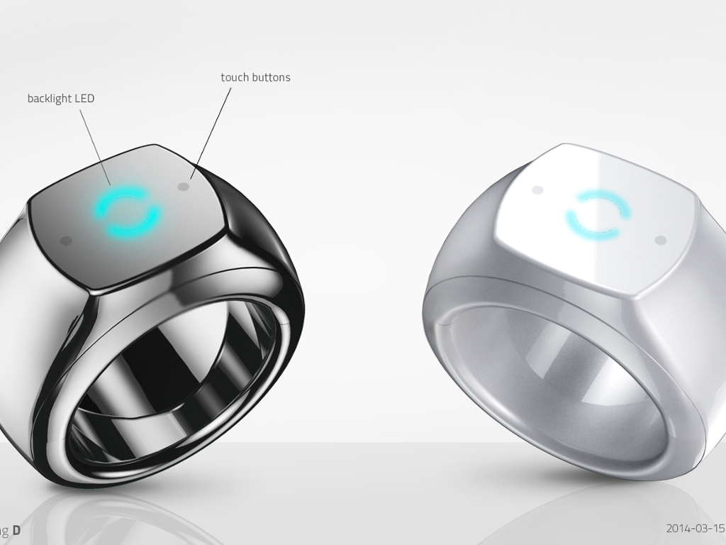 With this ring: the wearable smart ring that controls your ...