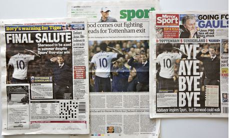 Daily Mail, the Guardian and Daily Mirror  Adebayor
