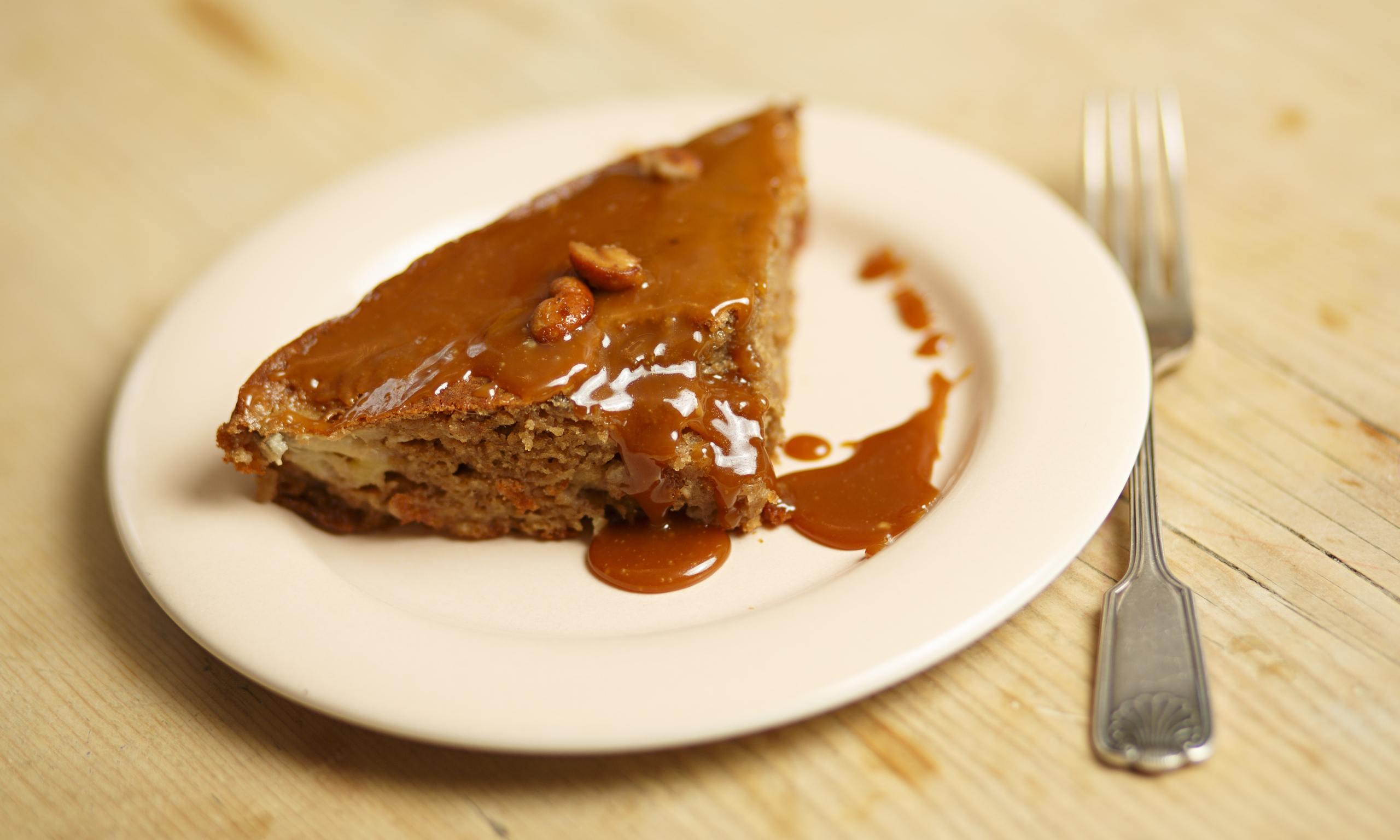 Salted Caramel Loaf Cake Uk