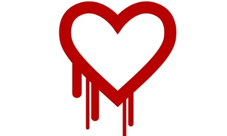 The Heartbleed logo