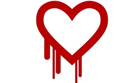 The Heartbleed logo