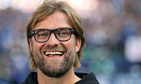 Jurgen Klopp: happy.