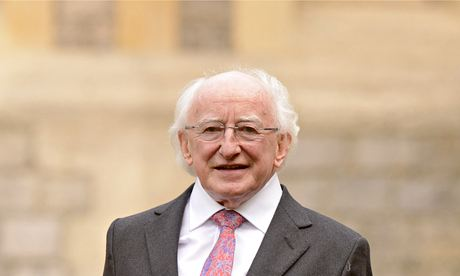 Irish President Michael Higgins