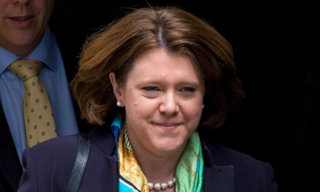 Maria Miller, who has resigned from the cabinet.