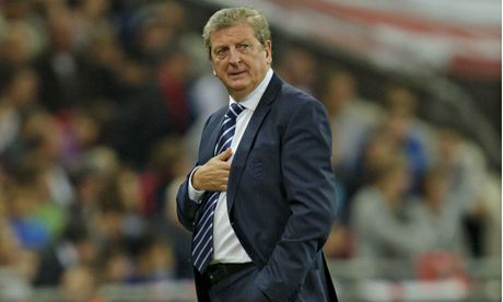 Roy Hodgson at England v Moldova World Cup qualifi