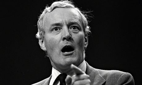Tony Benn in 1981.