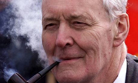 Tony Benn in 2001.