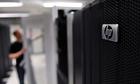 A Hewlett-Packard computer