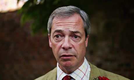 Ukip's Nigel Farage Campaigns Before European Elections