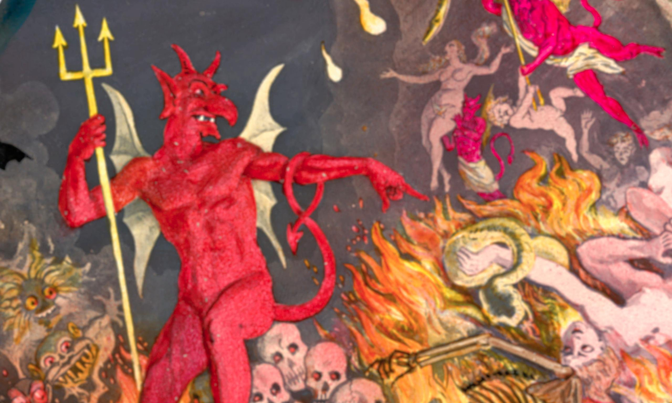 Pope Francis's ... Evil Spirits Bible