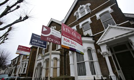 For sale signs in north London